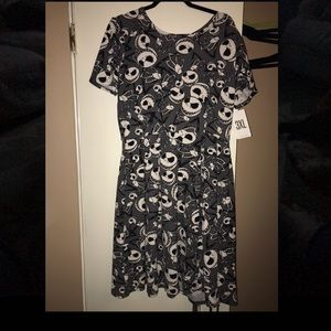 3X LuLaRoe Amelia style dress.